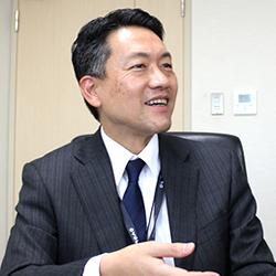 日本紙パルプ商事株式会社 広報室 室長 藤嶋 章人 氏