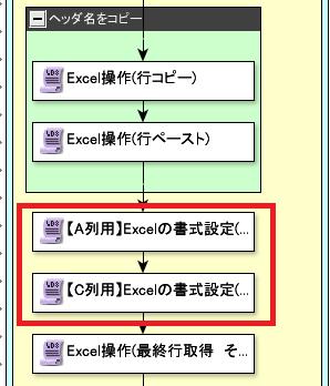 複数列に書式設定2
